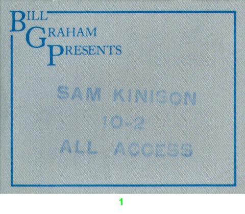 Sam Kinison Backstage Pass