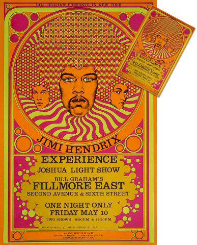 Jimi Hendrix Experience Poster/Postcard Set