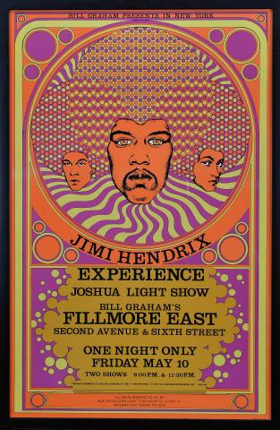 Jimi Hendrix Experience Framed Poster