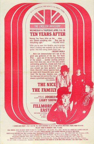 Ten Years After Handbill