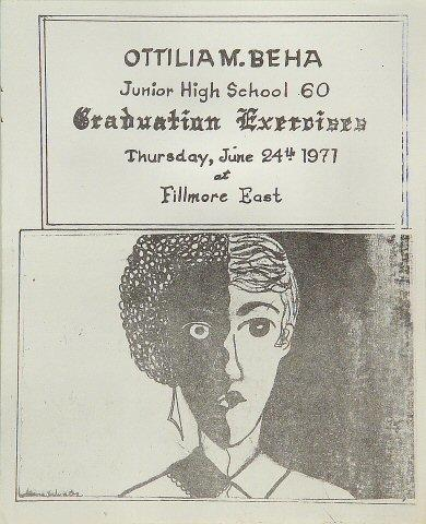 Ottilia M. Beha Junior High School Graduation Exercises Program