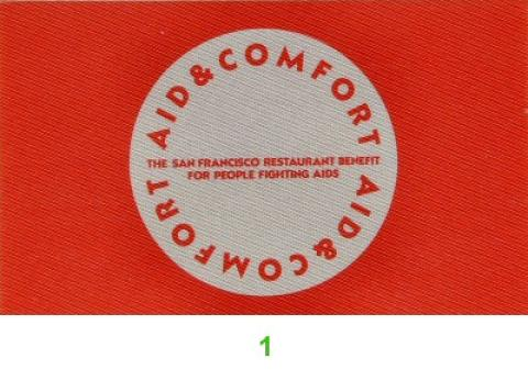 Aid and Comfort Benefit Backstage Pass