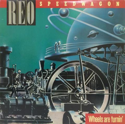 "REO Speedwagon Vinyl 12"""