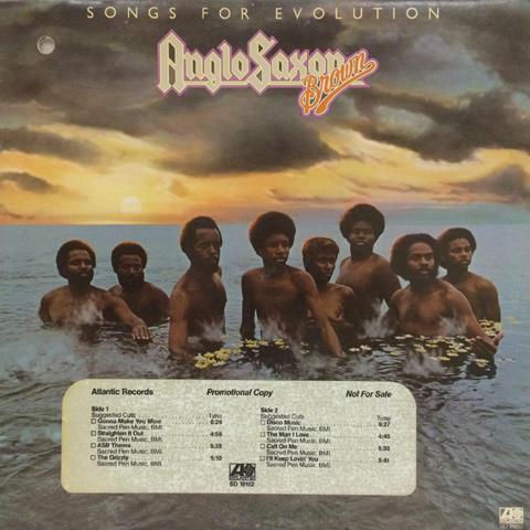 "Anglo-Saxon Brown Vinyl 12"""