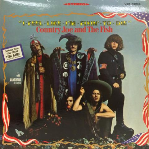 "Country Joe & the Fish Vinyl 12"""