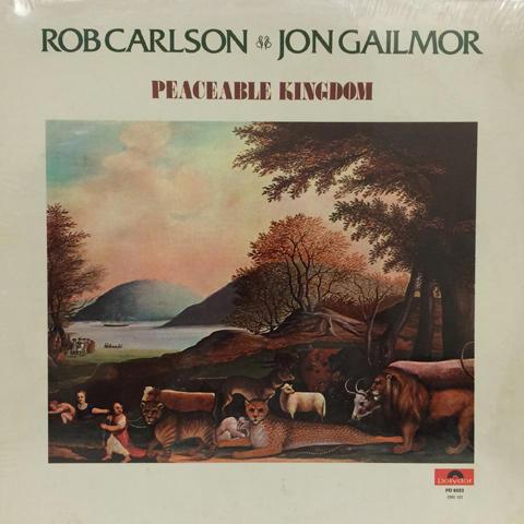"Rob Carlson & Jon Gailmor Vinyl 12"""