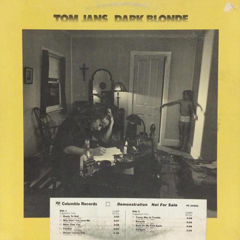 "Tom Jans Vinyl 12"""