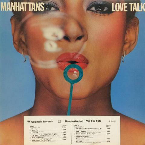 The Manhattans Vinyl 12""