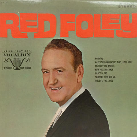 "Red Foley Vinyl 12"""
