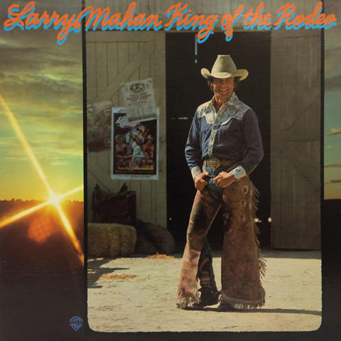 "Larry Mahan Vinyl 12"""