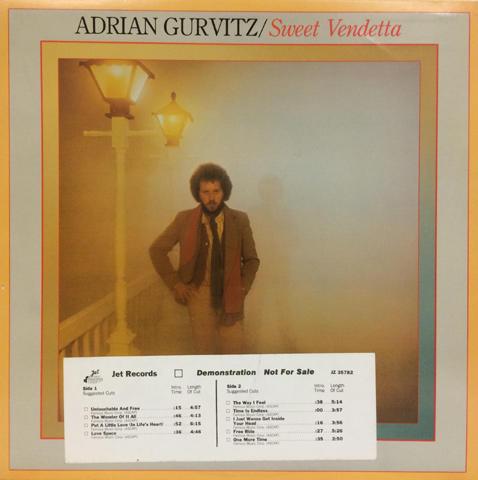 "Adrian Gurvitz Vinyl 12"""