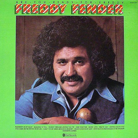 """Freddy Fender Vinyl 12"""""""
