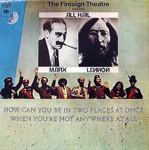 "Firesign Theatre Vinyl 12"" (Used)"