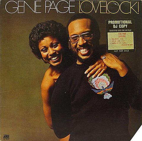 "Gene Page Vinyl 12"""