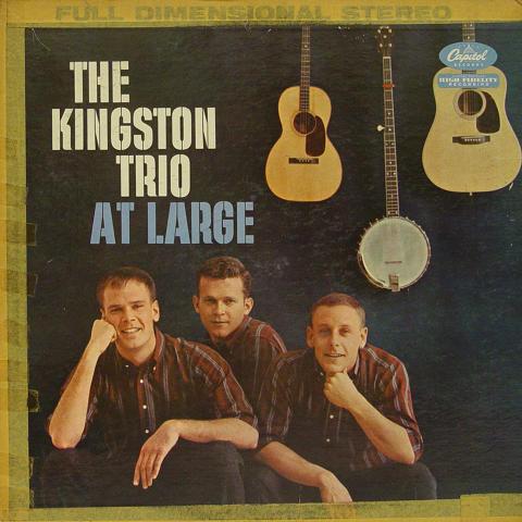 "The Kingston Trio Vinyl 12"""