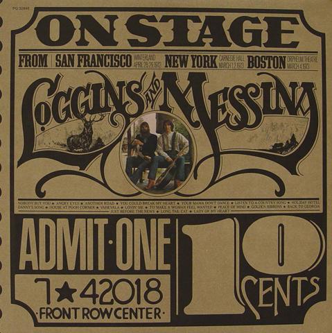 "Loggins and Messina Vinyl 12"""