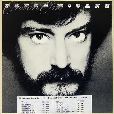 "Peter McCann Vinyl 12"""