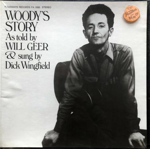 """Will Geer Vinyl 12"""""""