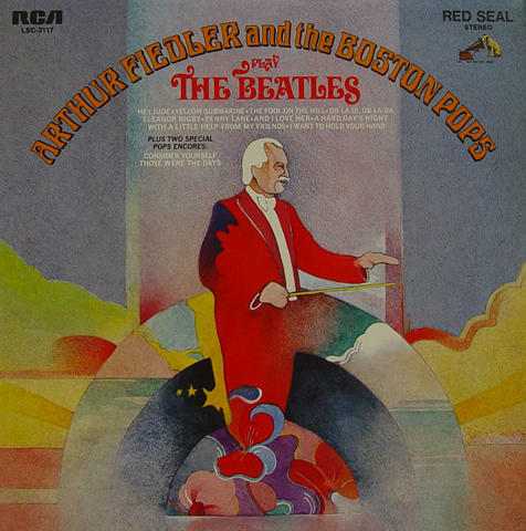 "The Boston Pops Vinyl 12"""