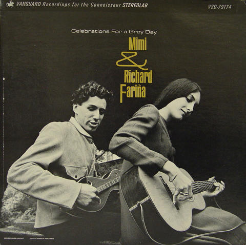 "Mimi & Dick Farina Vinyl 12"""