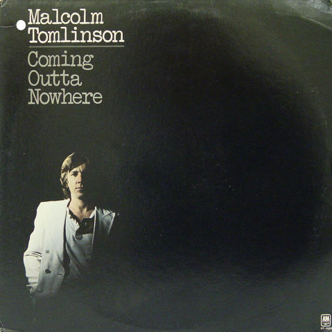 "Malcolm Tomlinson Vinyl 12"""