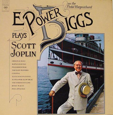 "E. Power Biggs Vinyl 12"""