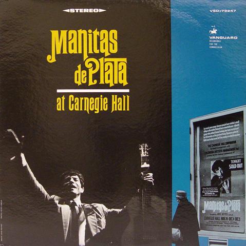 "Manitas de Plata Vinyl 12"""