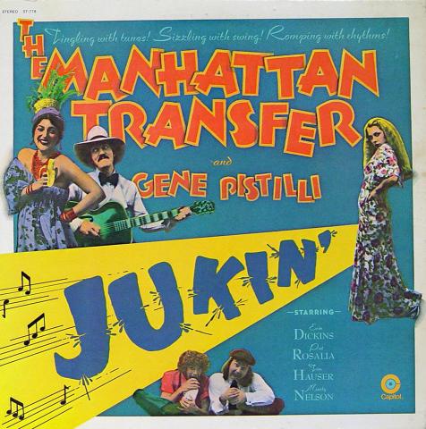 "The Manhattan Transfer Vinyl 12"""