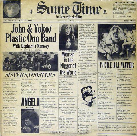 """John & Yoko Vinyl 12"""""""
