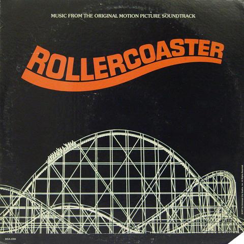 "Rollercoaster Soundtrack Vinyl 12"""