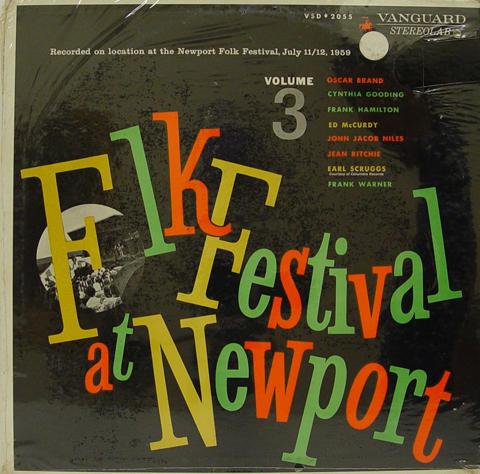 "Folk Festival at Newport Volume 3 Vinyl 12"""