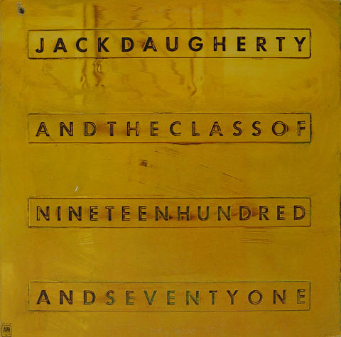 "Jack Daugherty Vinyl 12"""