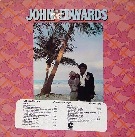 """John Edwards Vinyl 12"""""""
