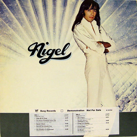 "Nigel Olsson Vinyl 12"""