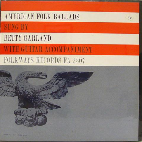 "Betty Garland Vinyl 12"""