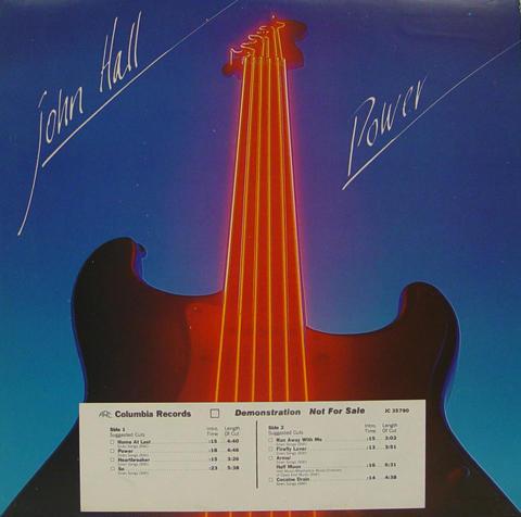 "John Hall Vinyl 12"""