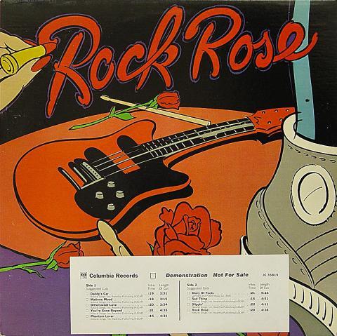 "Rock Rose Vinyl 12"""