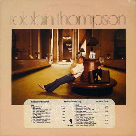 "Robbin Thompson Vinyl 12"""