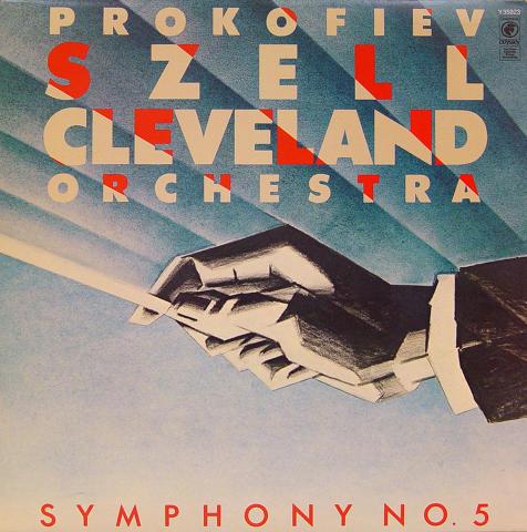 """Prokofiev Szell Cleveland Orchestra Vinyl 12"""""""