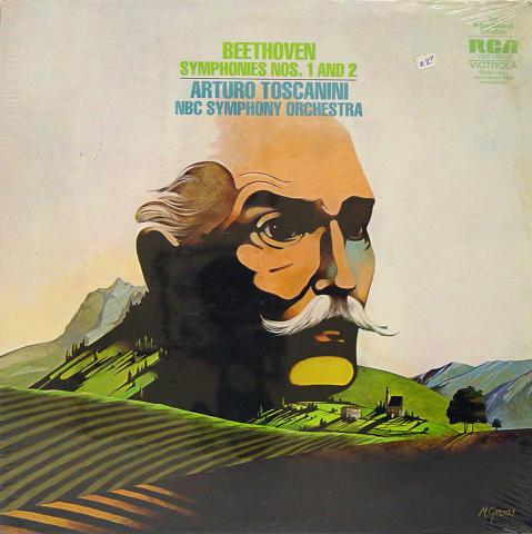 "Arturo Toscanini Vinyl 12"""