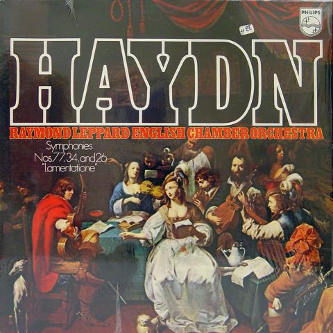 "Raymond Leppard English Chamber Orchestra Vinyl 12"""