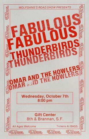 The Fabulous Thunderbirds Poster