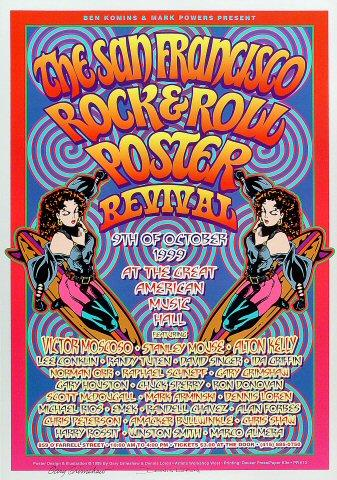 SF Rock Poster Revival Show Poster