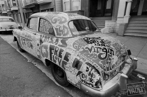 Cosmic Car Fine Art Print