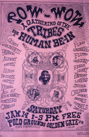 Human Be-In Fine Art Print