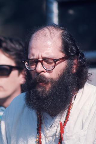 Allen Ginsberg Fine Art Print