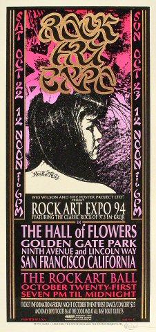 Rock Art Expo '94 Poster