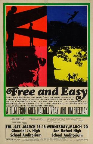 Free and Easy Poster