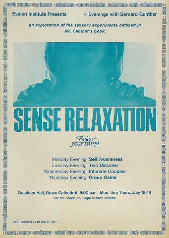 Sense Relaxation Poster
