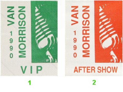 Van Morrison Backstage Pass